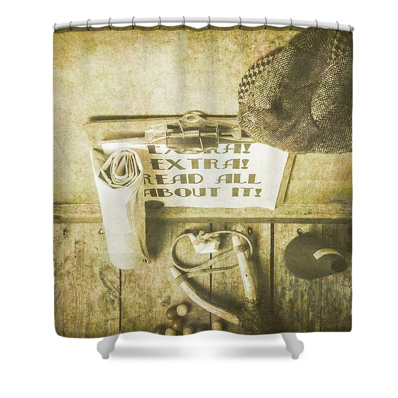 Daily Life Photographs Shower Curtains