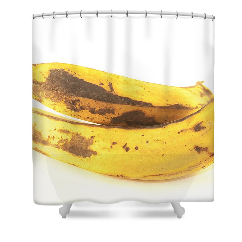 Plantain Shower Curtain featuring the photograph Old Plantain by D R