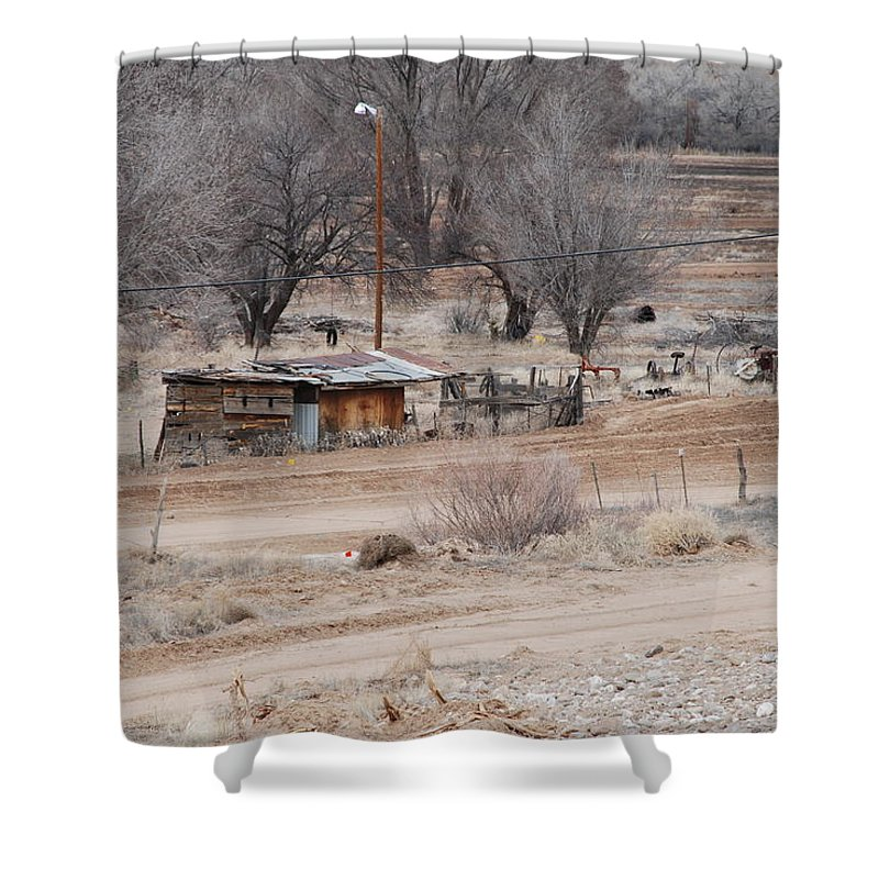 House Shower Curtain featuring the photograph Old Ranch House by Rob Hans