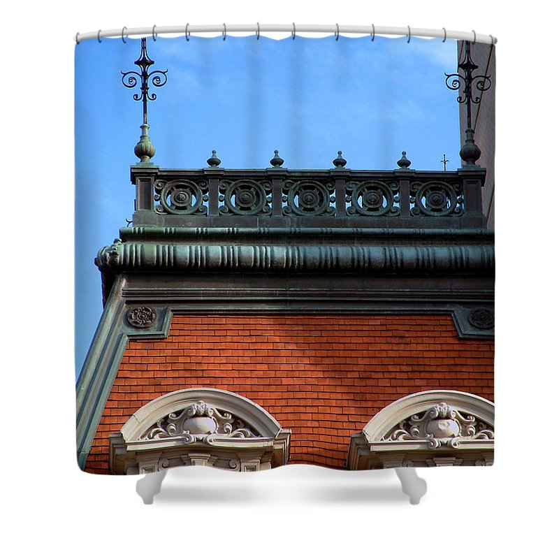 Apartment Shower Curtain featuring the photograph On A Clear Day by RC DeWinter