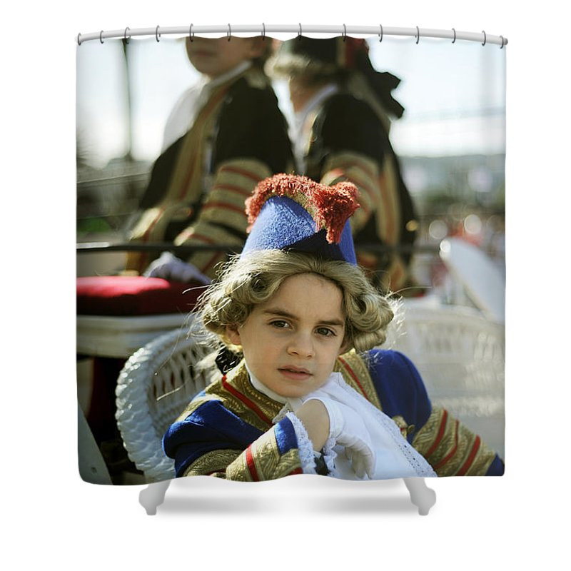Spain Shower Curtain featuring the photograph On The Carriage by Rafa Rivas