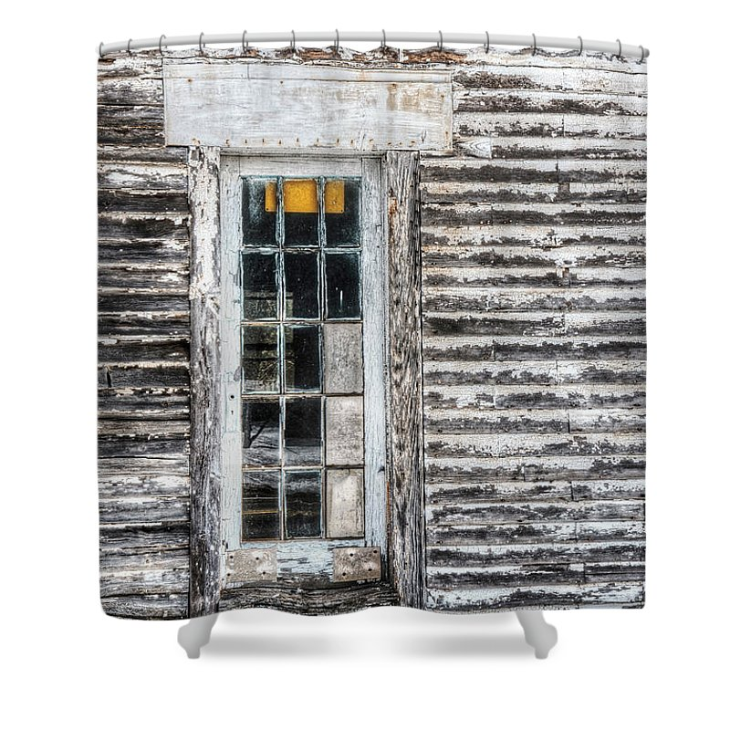 Architecture Shower Curtain featuring the photograph On The Inside by Richard Bean