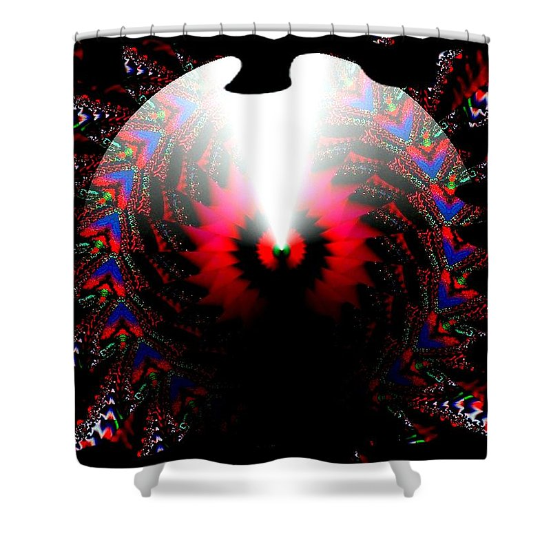 Cone Shower Curtain featuring the digital art Once In A Lifetime by Robert Orinski