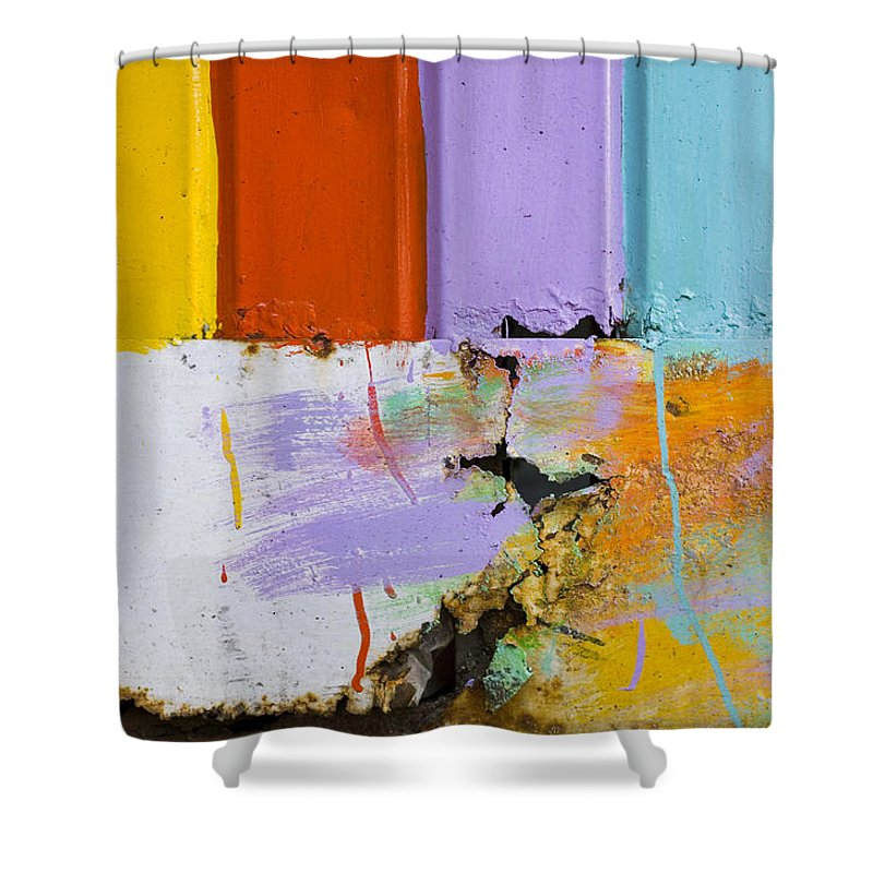 Skip Hunt Shower Curtain featuring the photograph Once Upon A Circus by Skip Hunt