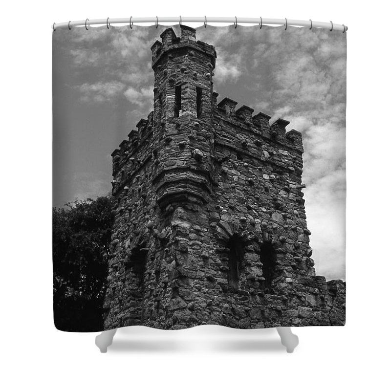 Castle Shower Curtain featuring the photograph Once Upon A Time by Richard Rizzo