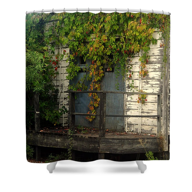 Once Upon A Time Shower Curtain featuring the photograph Once Upon A Time by Susanne Van Hulst