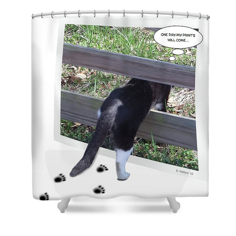 2d Shower Curtain featuring the photograph One Day by Brian Wallace