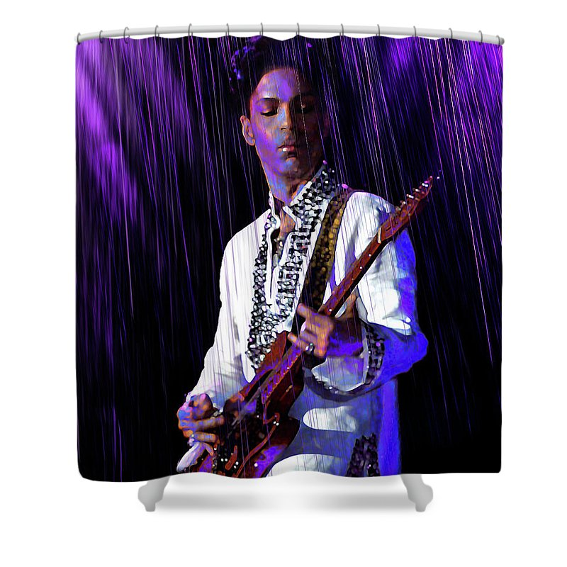 Prince Rogers Nelson Shower Curtains | Fine Art America