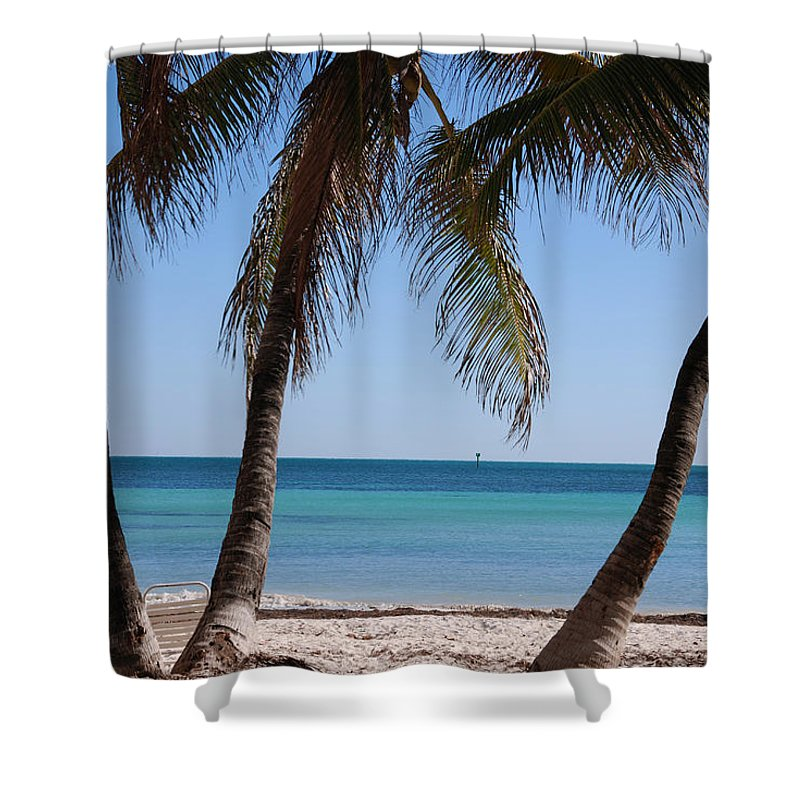 Photography Shower Curtain featuring the photograph Open Beach View by Susanne Van Hulst