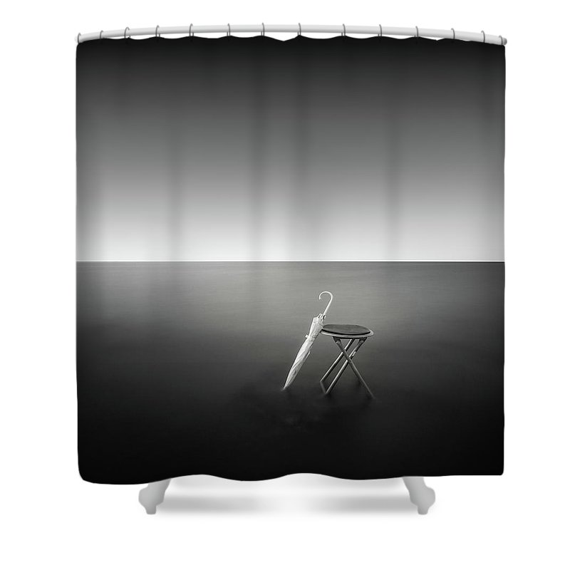 Fineart Shower Curtain featuring the photograph Opera by Dicky Sangadji