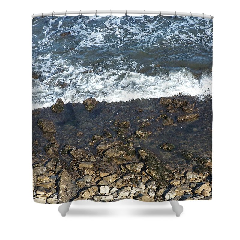 Ocean Shower Curtain featuring the photograph Opponents by Shari Chavira