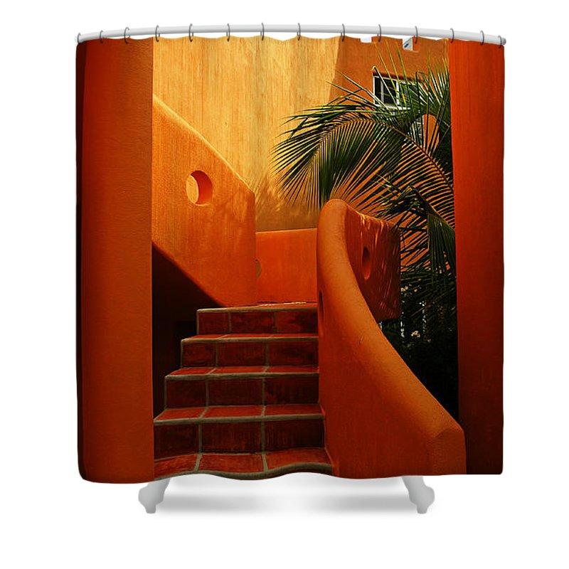 Orange Crush Shower Curtain featuring the photograph Orange Crush 2 by Skip Hunt