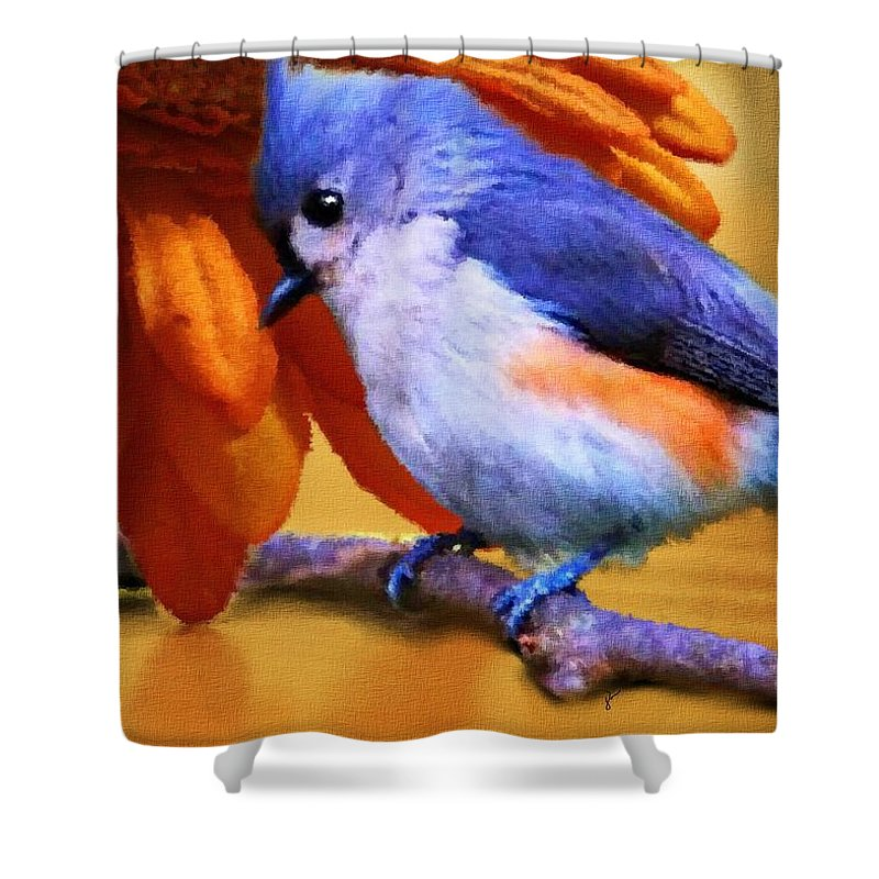 Titmouse Shower Curtains