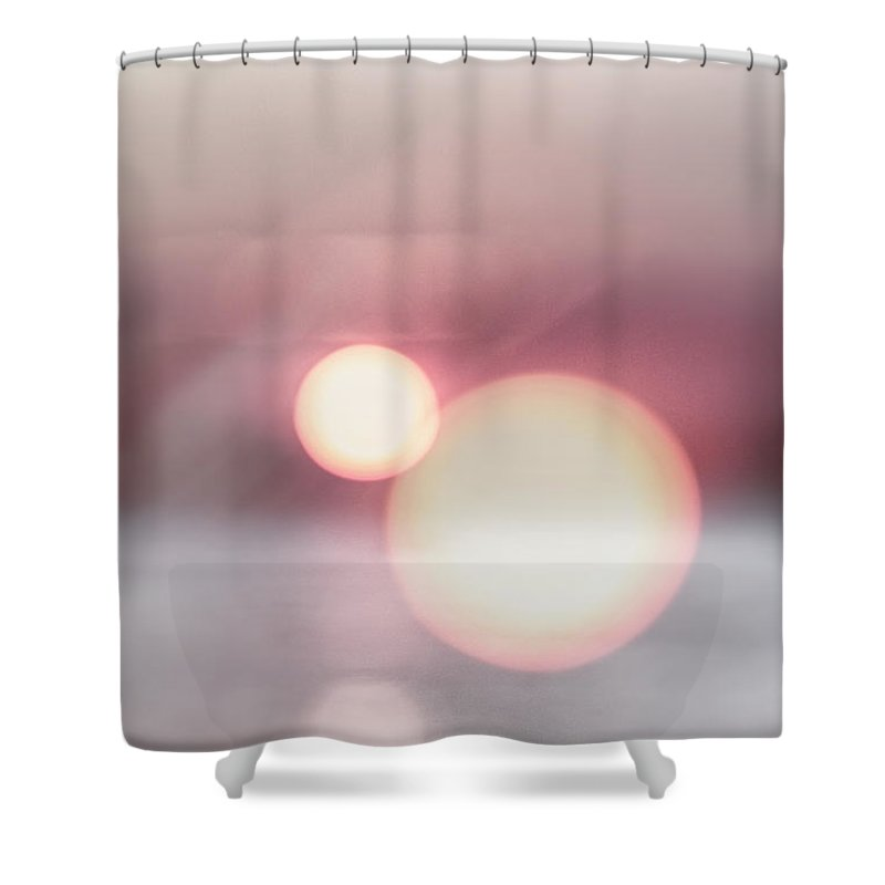 Orbs Shower Curtain featuring the photograph Orbs by Margie Hurwich