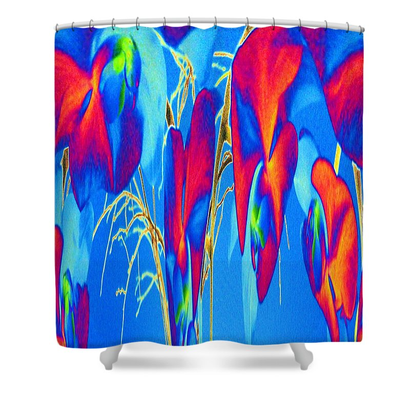 Orchid Shower Curtain featuring the photograph Orchid 2 by Tim Allen
