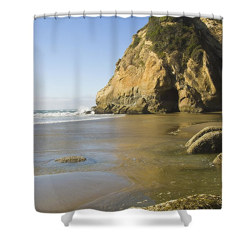 Ocean Shower Curtain featuring the photograph Oregon Coast by Terry Wieckert