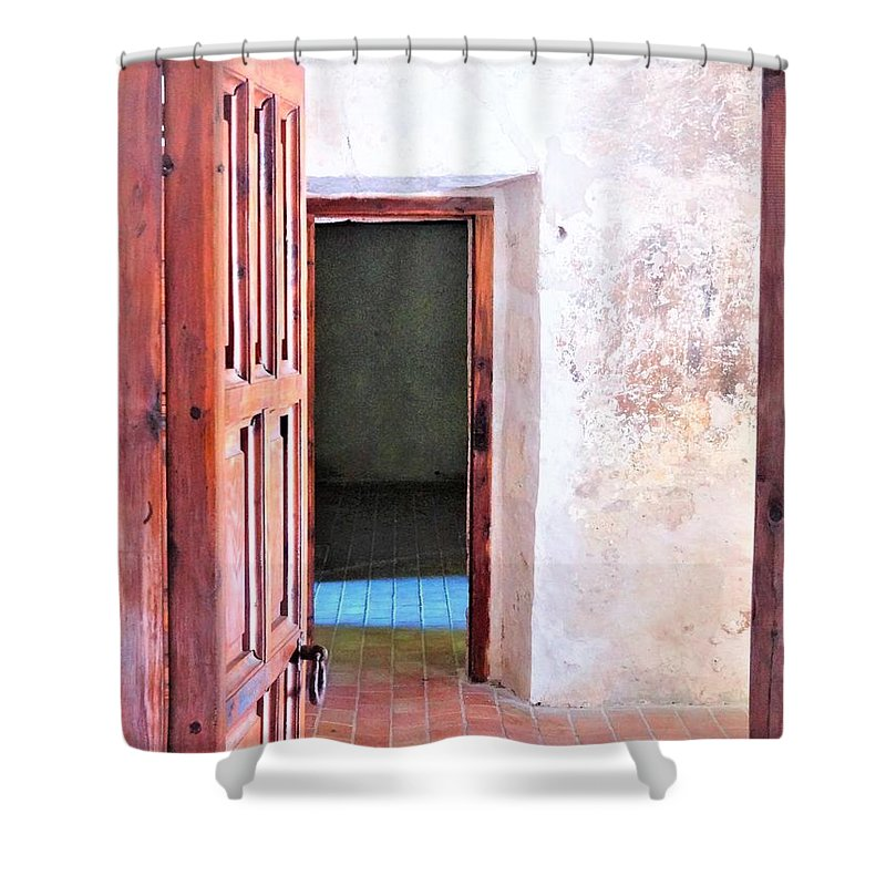 Shower Curtain featuring the photograph Other Side by Pablo Munoz
