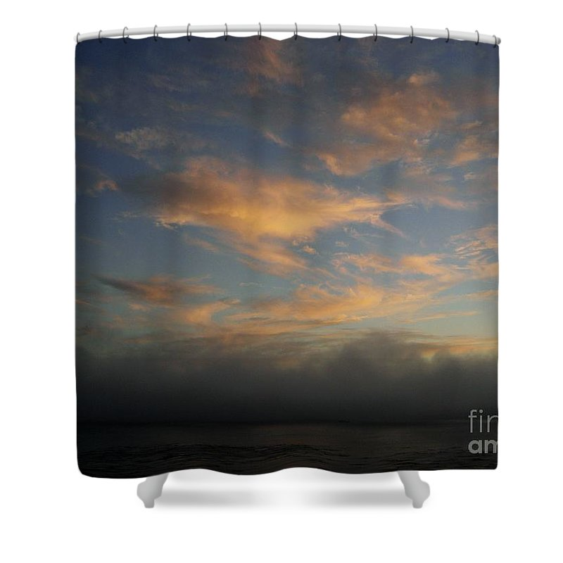 Ocean Shower Curtain featuring the photograph Pacific Grove Sunrise by Mary Rogers