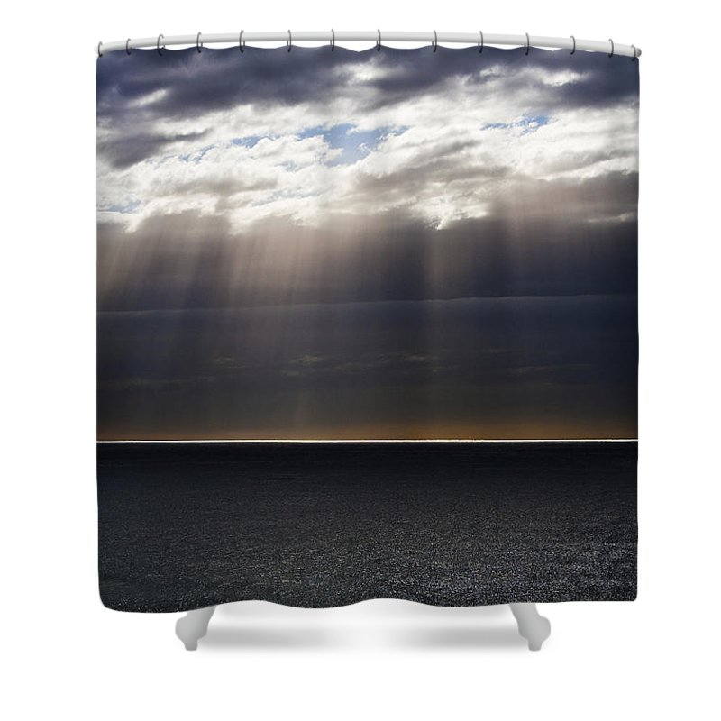 Shower Curtain featuring the photograph Pacific Storm by Sheila Smart Fine Art Photography