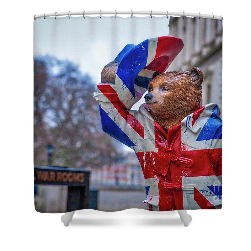 Paddington Jack Shower Curtain featuring the photograph Paddington Jack by Philip Pound
