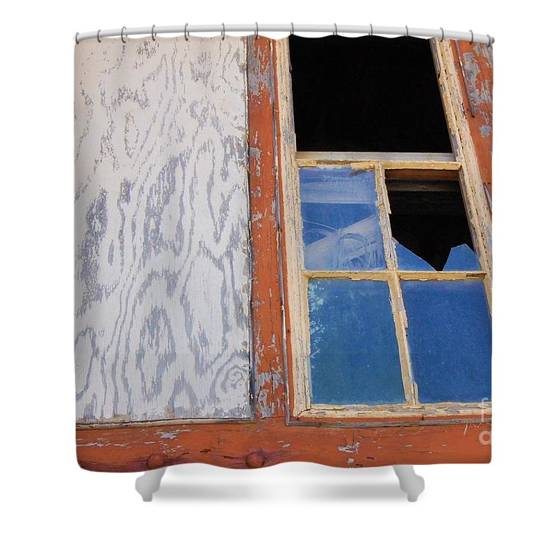 Window Shower Curtain featuring the photograph Painless by Debbi Granruth