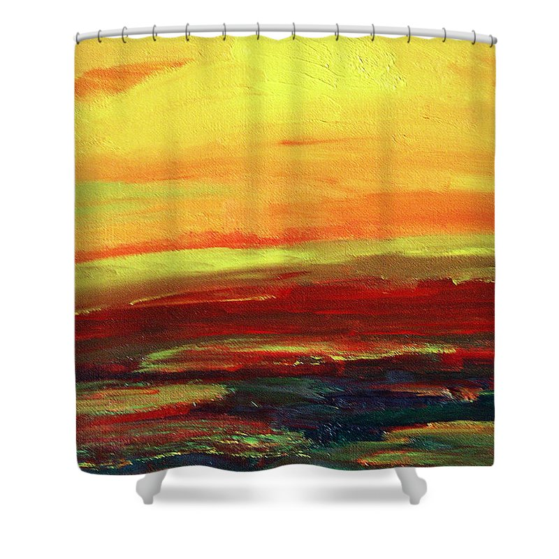 Painted Desert Shower Curtain