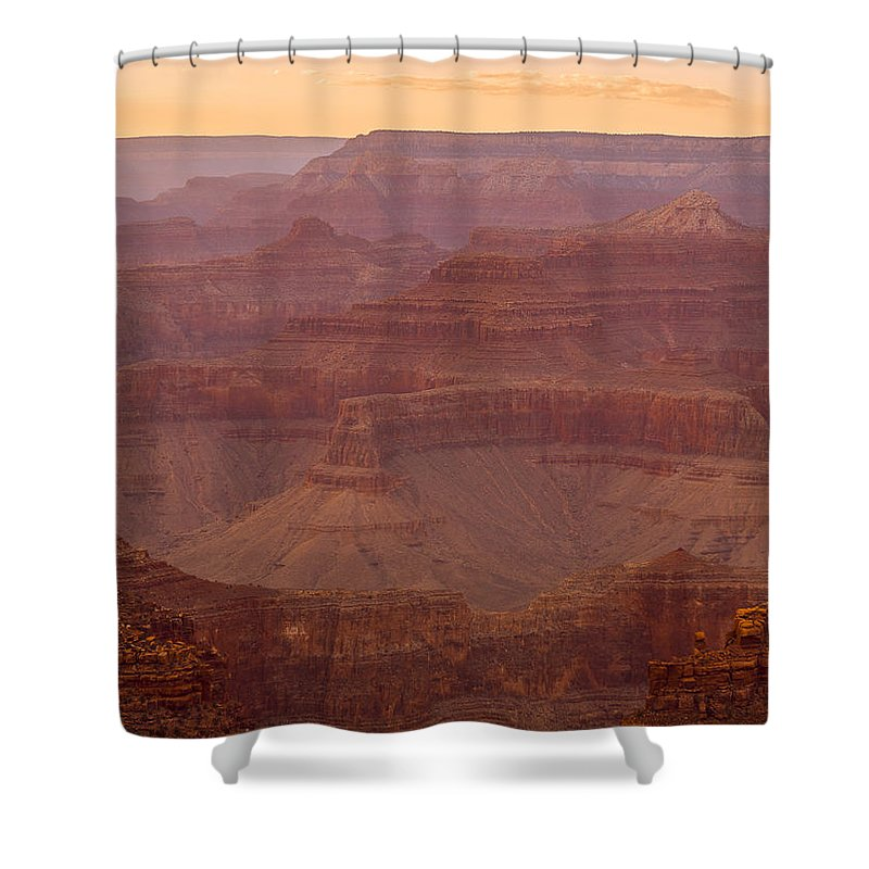 Ancient Shower Curtain featuring the digital art Palace Of The Generous Chieftain by Will Jacoby Artwork