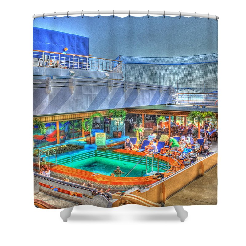 Palm Springs Shower Curtain featuring the photograph Palm Springs by Shelley Neff