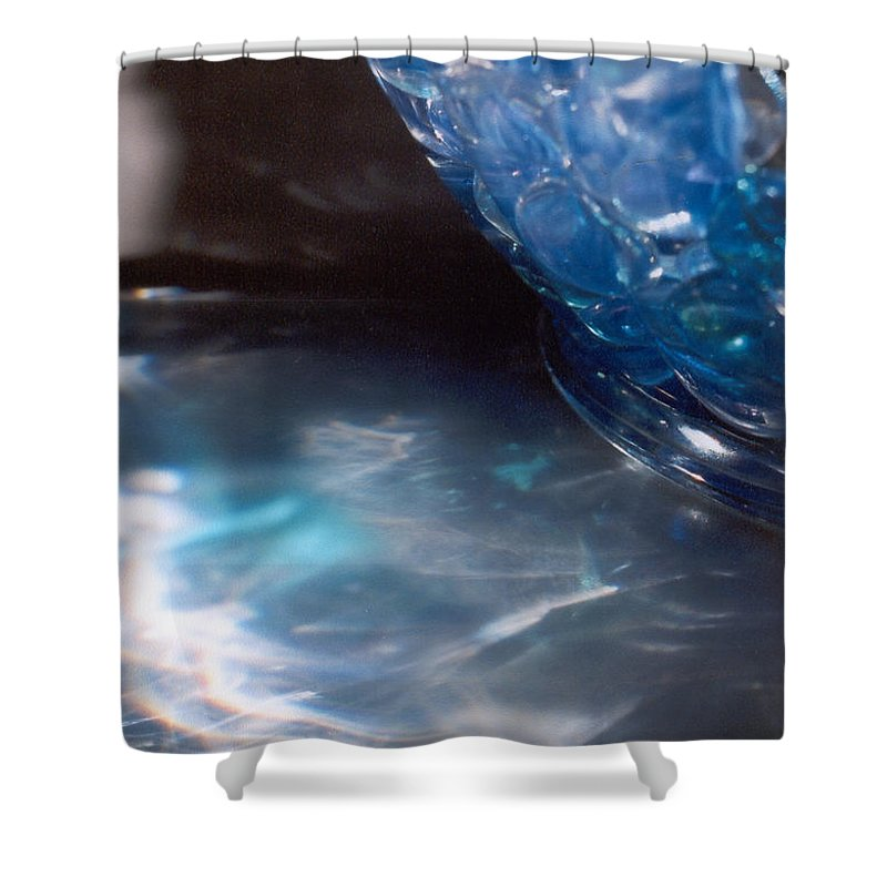 Abstract Shower Curtain featuring the photograph Panel One From Swirl by Steve Karol