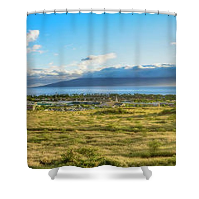 Hawaii Shower Curtain featuring the photograph Panorama  by Jim Thompson