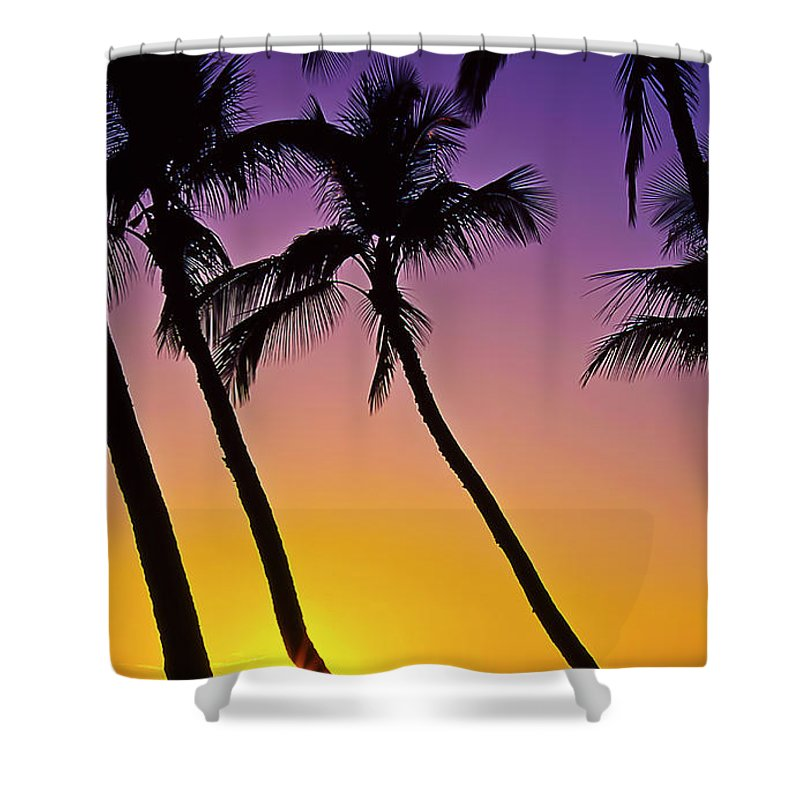 Sunset Shower Curtain featuring the photograph Paradise by Jim Cazel