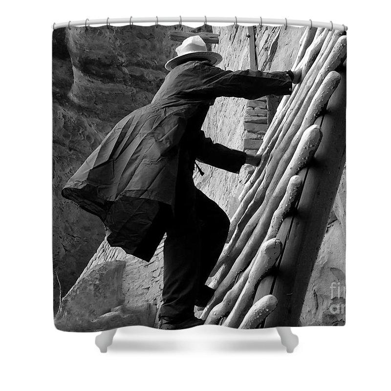 Park Ranger Shower Curtain featuring the photograph Park Ranger by David Lee Thompson