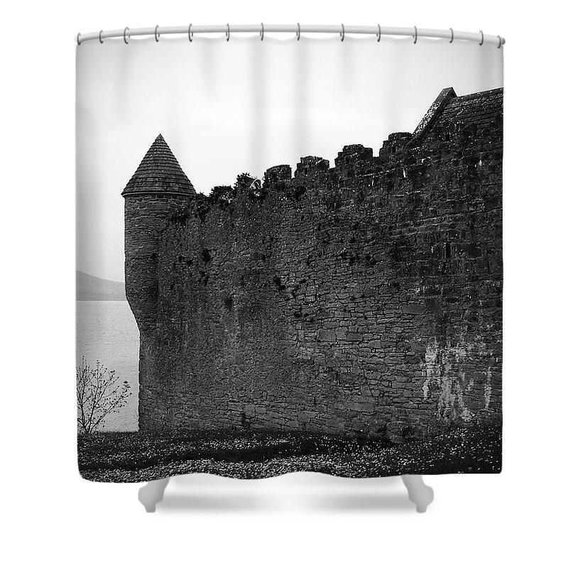 Ireland Shower Curtain featuring the photograph Parkes Castle County Leitrim Ireland by Teresa Mucha