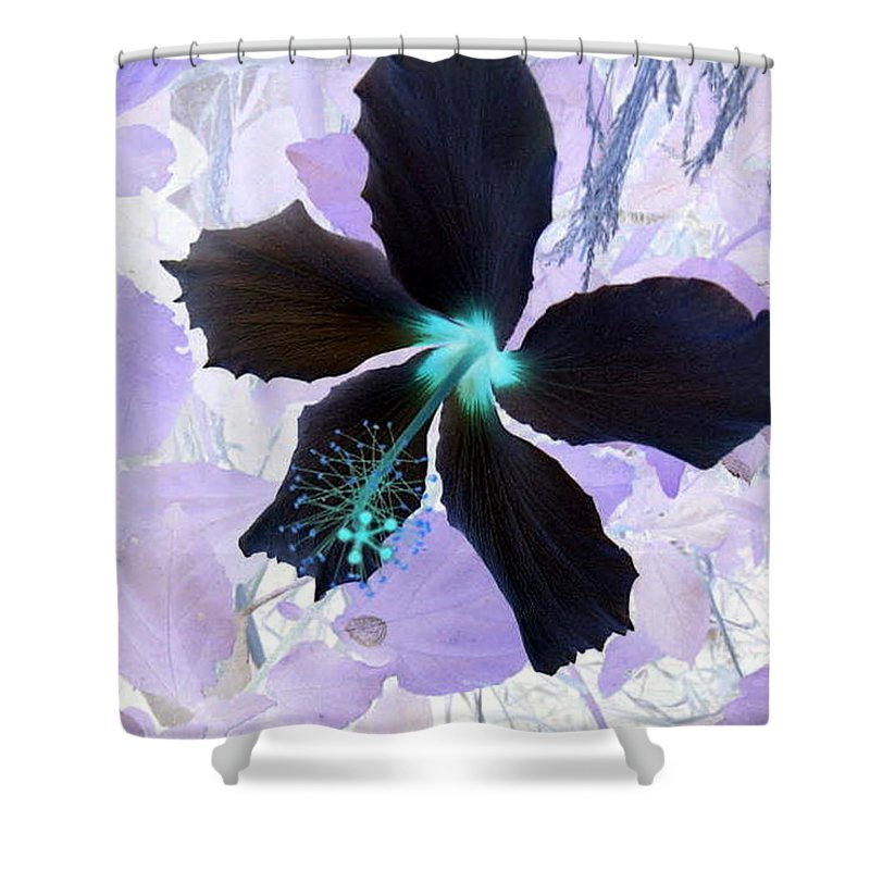 Passion Shower Curtain featuring the painting Passion by Dawn Hough Sebaugh