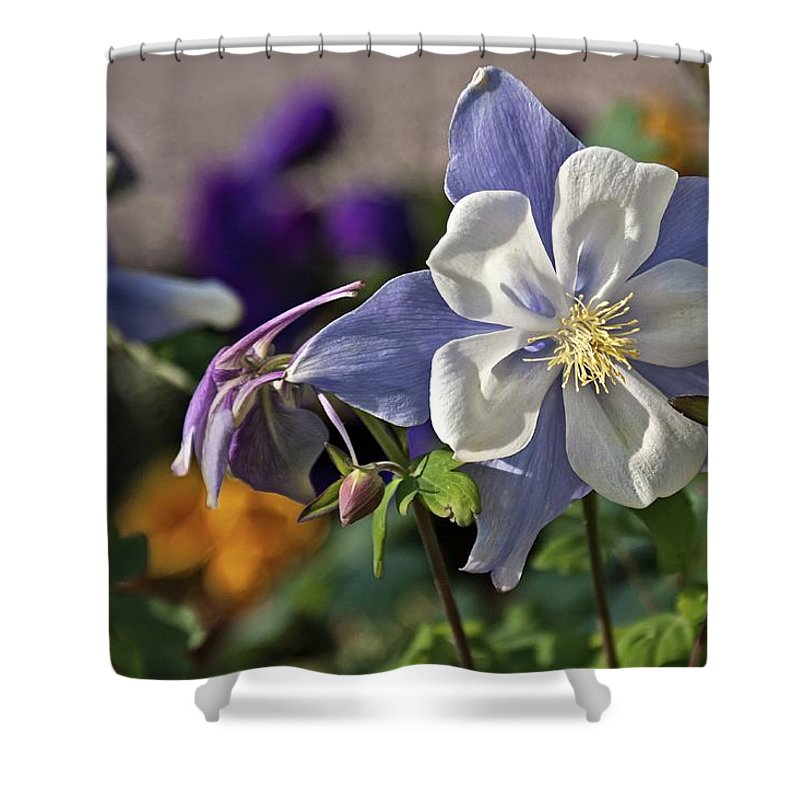 Pastel Shower Curtain featuring the photograph Pastel Spring Flowers by Tatiana Travelways