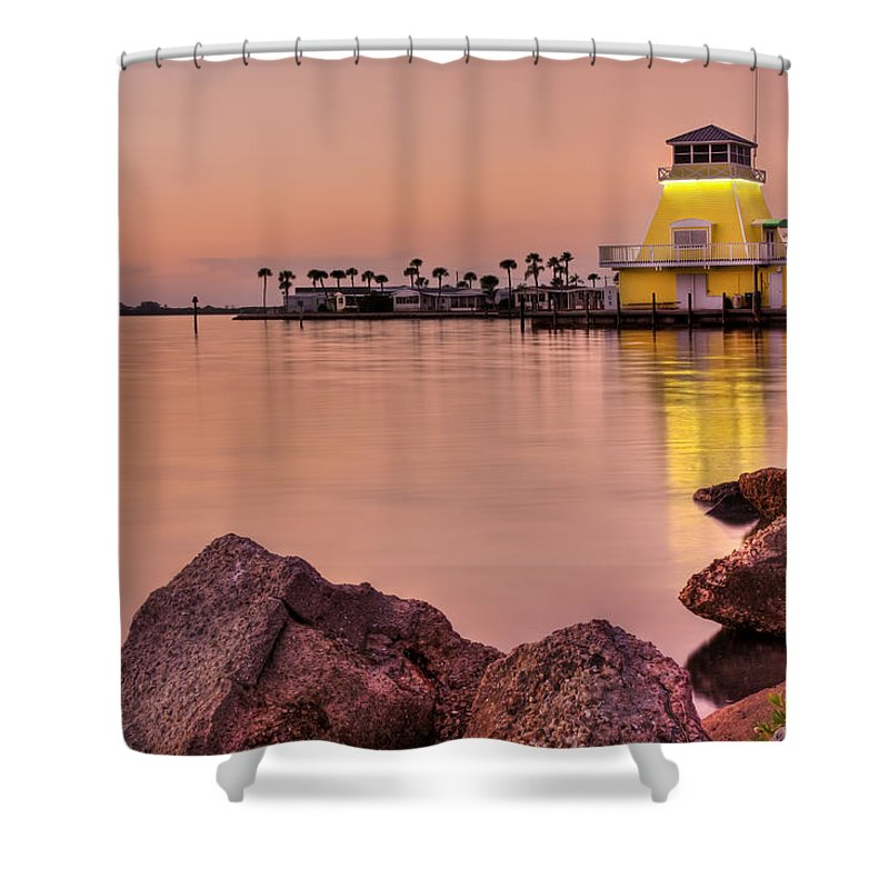 Dusk Shower Curtain featuring the photograph Pastels At Dusk by Evelina Kremsdorf