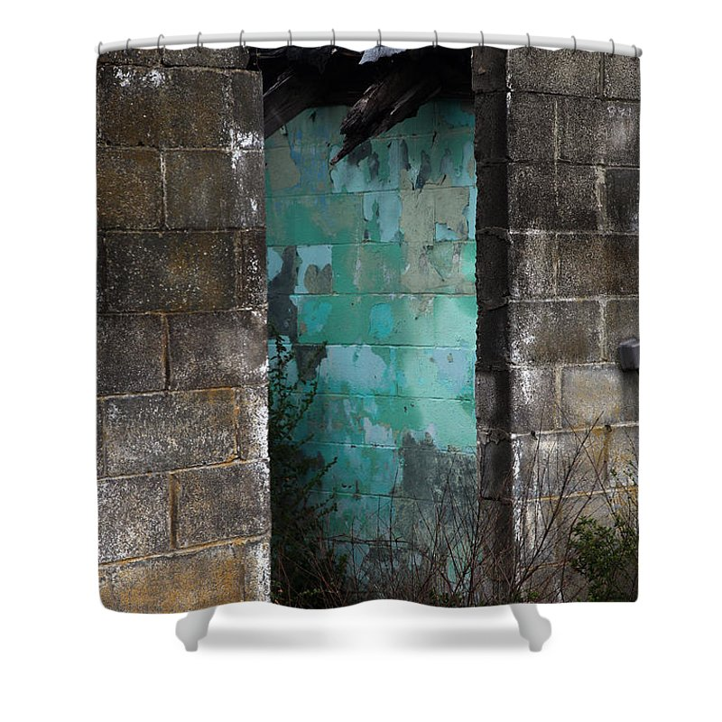Old Shower Curtain featuring the photograph Path To Enlightenment by Amanda Barcon