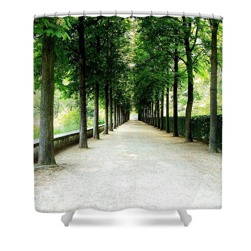 Path Shower Curtain featuring the photograph Pathway by Deborah Crew-Johnson
