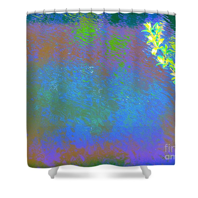 Water Art Shower Curtain featuring the photograph Patient Earth by Sybil Staples