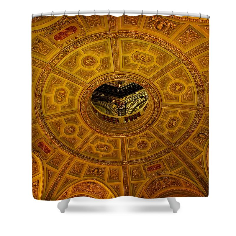 Ceiling Shower Curtain featuring the photograph Pattern by Ian MacDonald