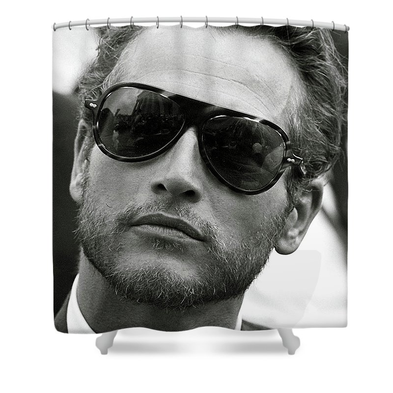 Paul Newman Sunglasses Cool Shower Curtain For Sale By Thomas Pollart