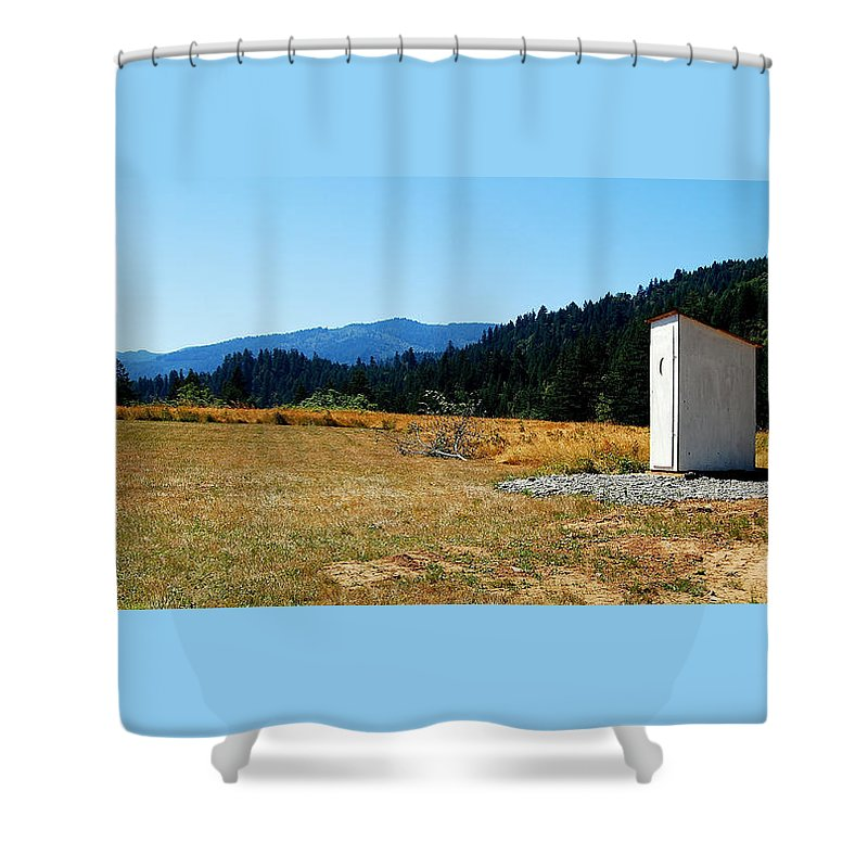 Landscape Shower Curtain featuring the photograph Peace And Solitude by Rupert Chambers
