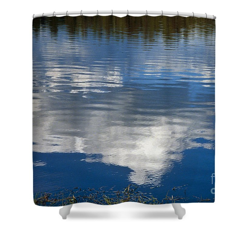 Landscape Shower Curtain featuring the photograph Peace by Kathy McClure