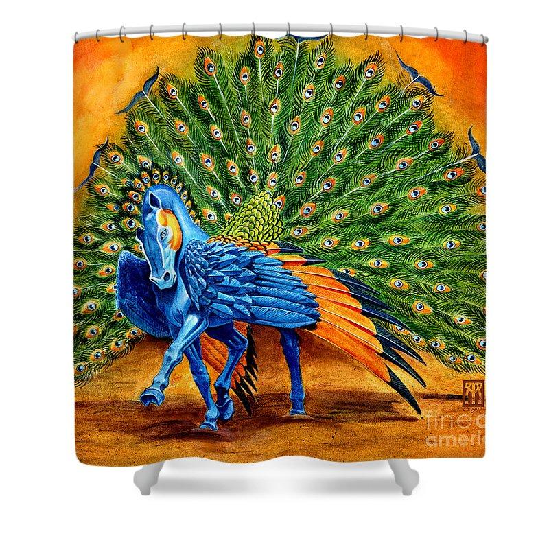 Pegasus Shower Curtains
