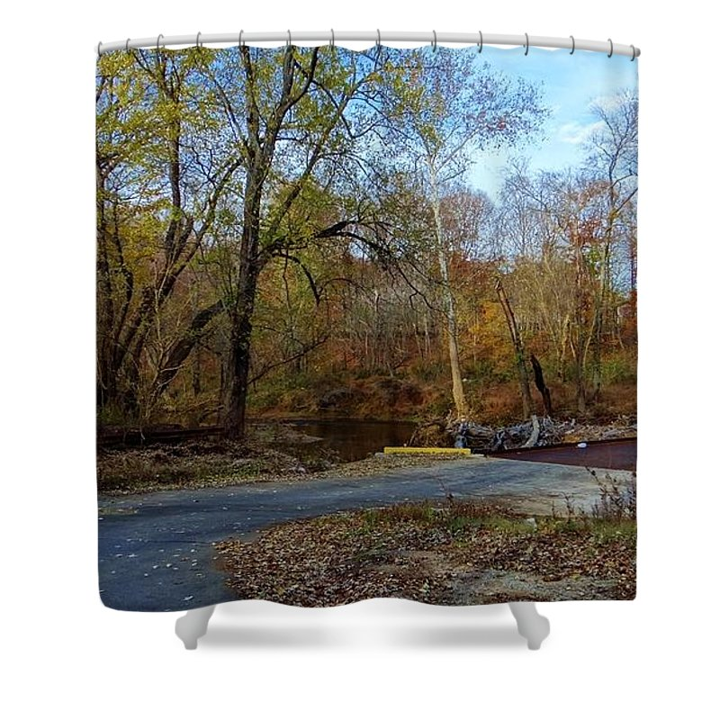Serene Shower Curtain featuring the photograph Perfect Serenity by Deb Rassel
