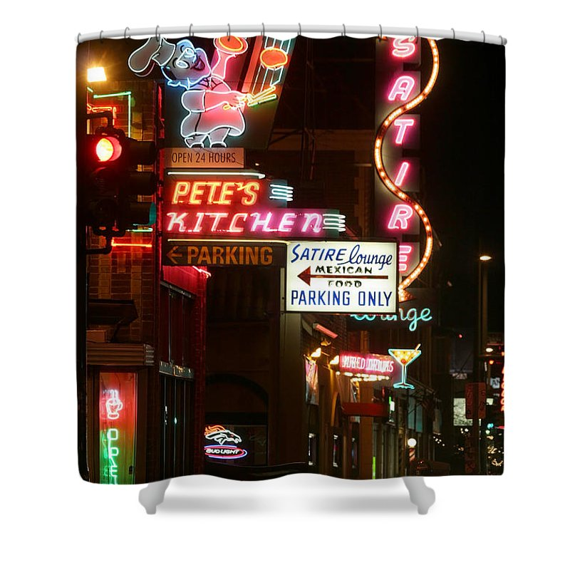 Pete's Shower Curtain featuring the photograph Pete's Kitchen by Jeffery Ball