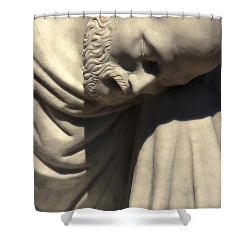 Saint Peter Shower Curtain featuring the photograph Petrus or Saint Peter by Susanne Van Hulst