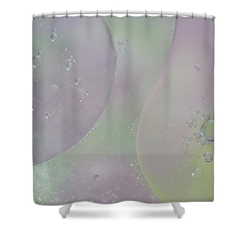 Abstract Shower Curtain featuring the photograph Phagocytosis by Michael Peychich