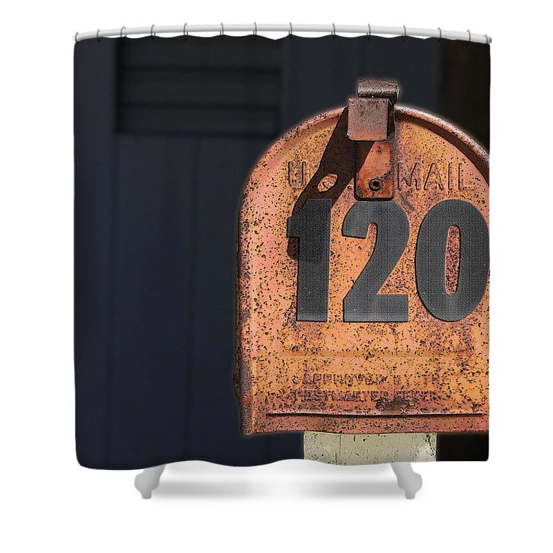 Philately Shower Curtain featuring the photograph Philately by Paul Wear