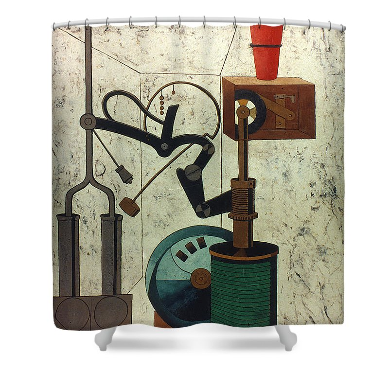 1917 Shower Curtain featuring the photograph Picabia: Parade by Granger